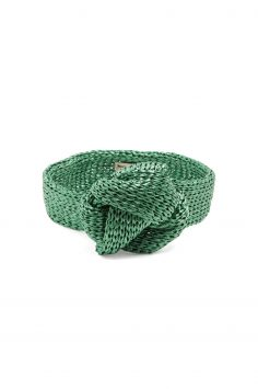 Click to Buy Reinhard Plank Hats Green Woven Straw Headband