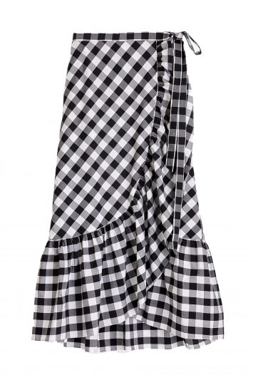 Click to Buy J. Crew Gingham Skirt
