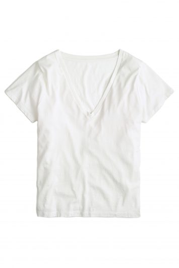 Click to Buy J. Crew White T Shirt