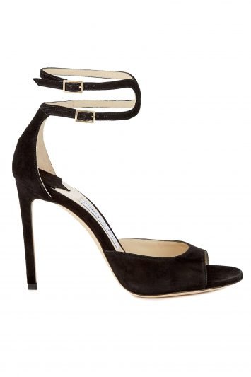 Click to Buy Jimmy Choo Lane Black Sandals