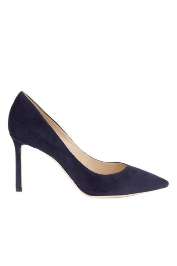 Click to Buy Jimmy Choo Navy Sandals