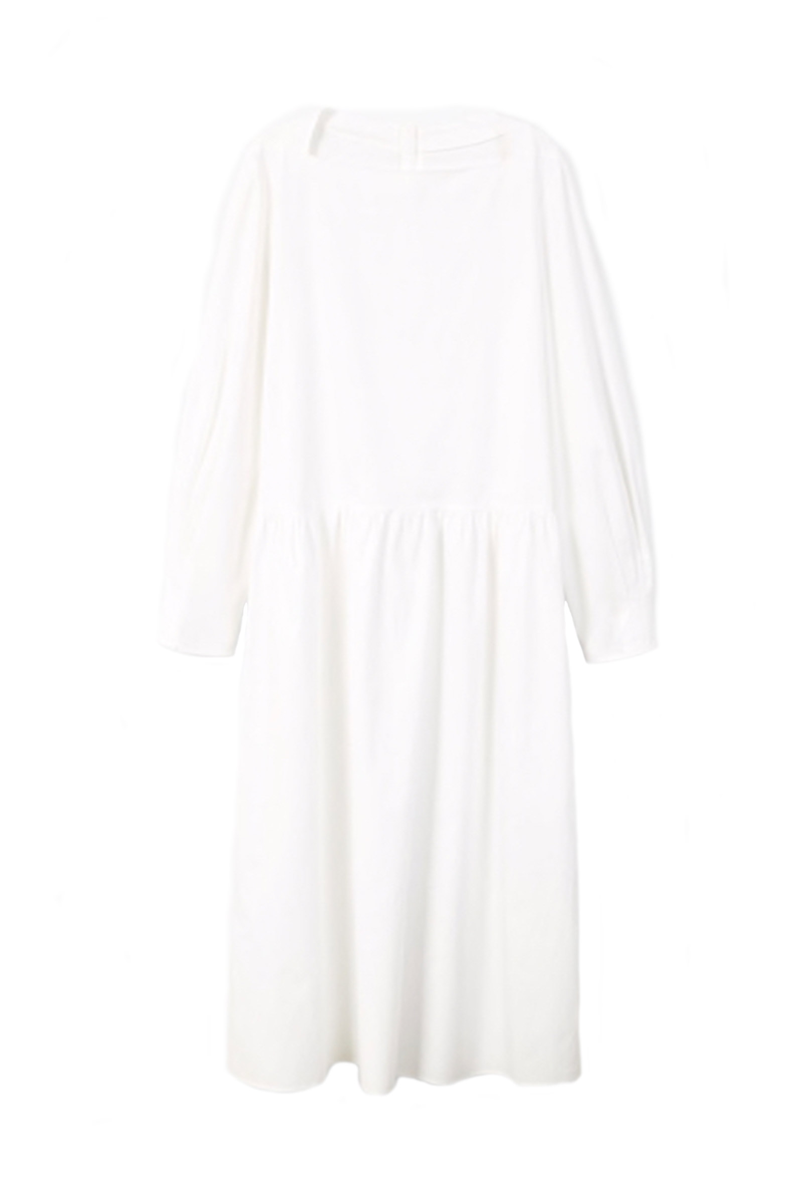 Click to Buy Mango White Poplin Dress