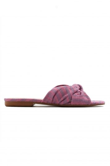 Click to Buy Mango Knot Flat Sandals