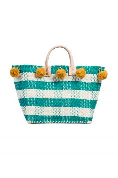 Click to Buy Mar Y Sol Pom Pom Tote Bag