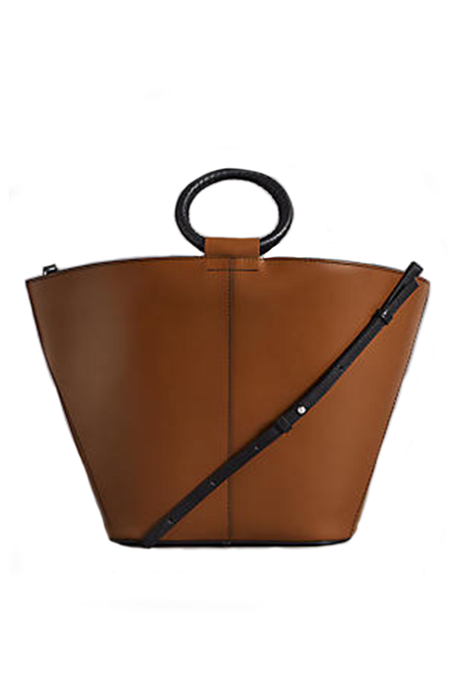 Click to Buy Marks & Spencer Leather Round Bag