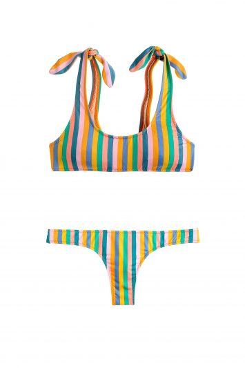 Click to Buy J. Crew Striped Bikini