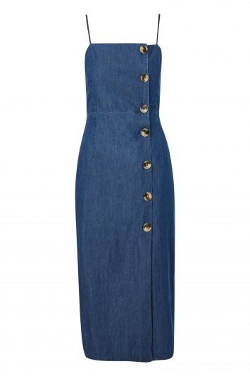 Click to Buy Topshop Denim Dress