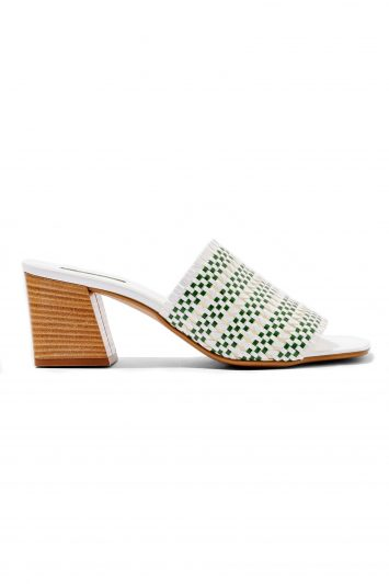 Click to Buy Topshop Woven Nadia Mules