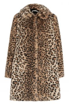 Click to Buy Alice+Olivia Leopard Print Coat