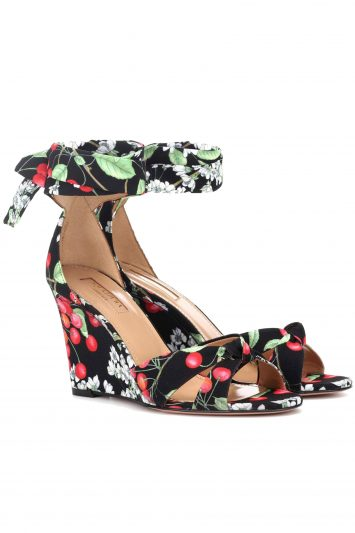 Click to Buy Aquazzura Cherry Wedges