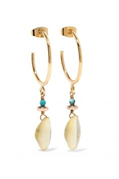 Click to Buy Isabel Marant Shell Earrings