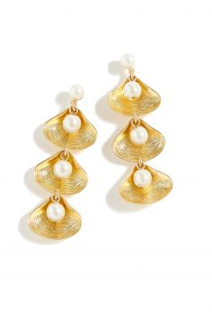 Click to Buy J.Crew Shell Drop Earrings