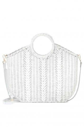 Click to Buy Ulla Johnson Amaris Mini Wicker Tote