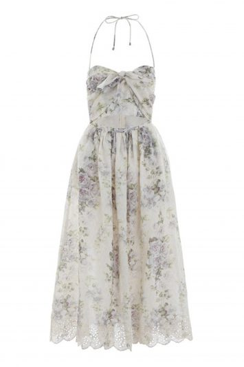 Click to Buy Zimmermann Iris Picnic Violet Floral Dress