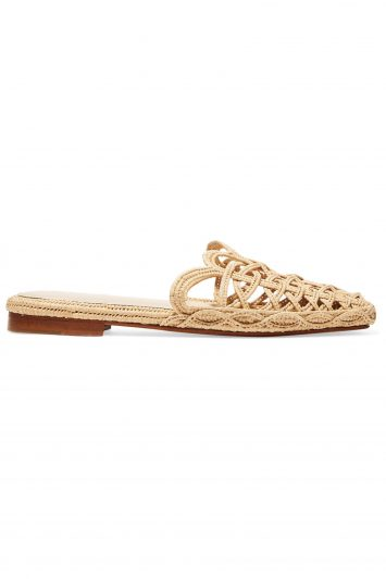 Click to Buy Zyne Raffia Slippers