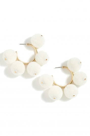 Click to Buy J.-Crew-Pom-Pom-Earrings