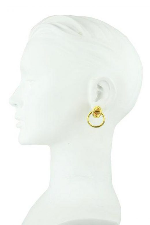 Katerina-Psoma-Cyclos-Gold-Plated-Brass-Hoops-Bust