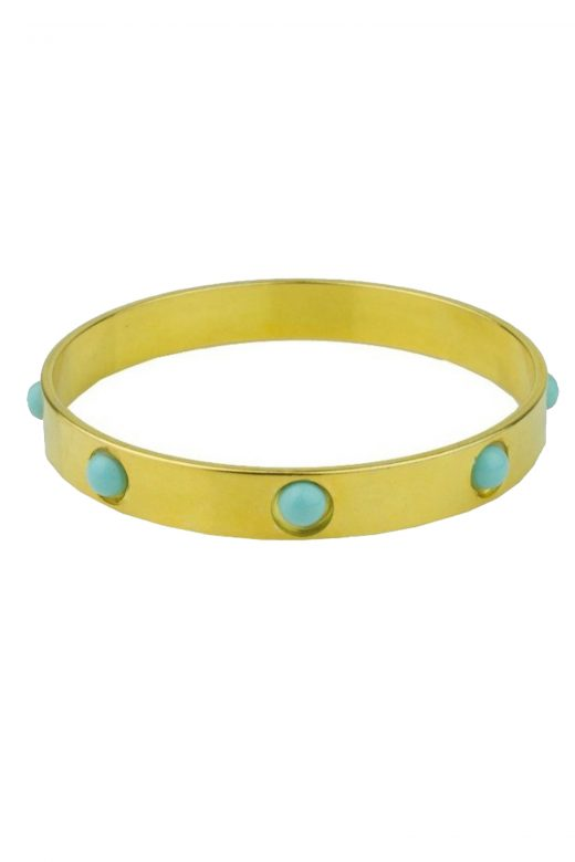 Katerina-Psoma-Cyclos-Gold-Plated-Metal-Cabochons-Bracelet