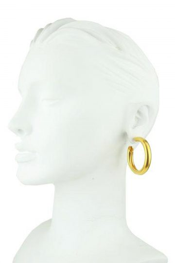 Katerina-Psoma-Cyclos-Gold-Plated-Metal-Hoops-Earrings-Bust
