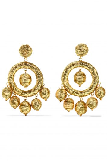 Click to Buy Kenneth-Jay-Lane-Gold-Earrings