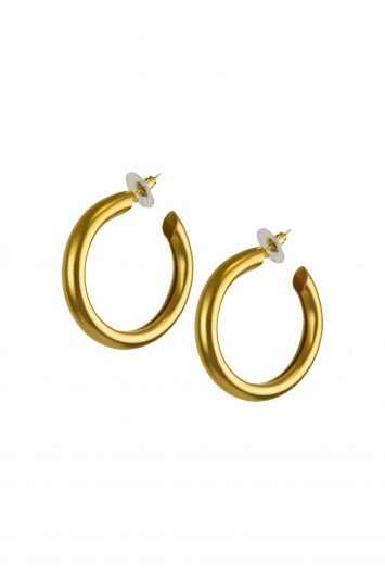 Katerina Psoma Cyclos Gold Hoop Earrings