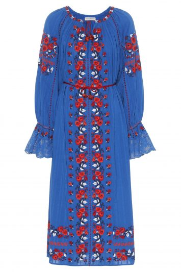Click to Buy Ulla Johnson Blue Dress