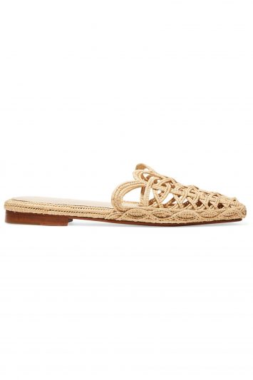 Click to Buy Zyne Raffia Slip On Shoes