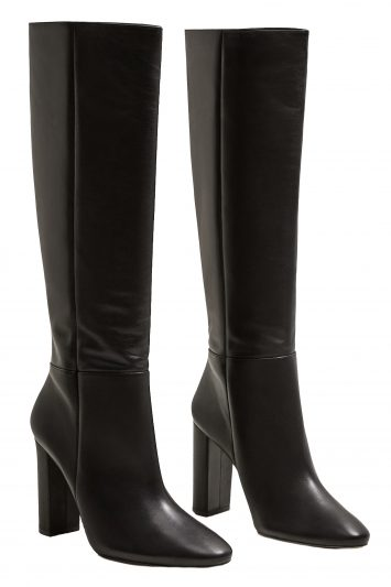 Click to Buy Mango-Leather-Boots-Pair