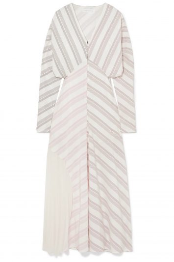 Click to Buy Victoria-Beckham-Stripe-Dress