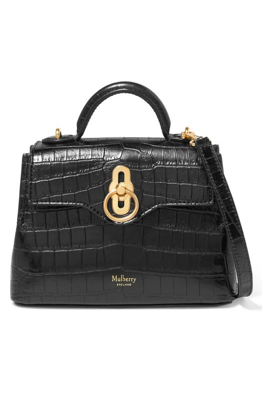 click to buy mulberry leather bag