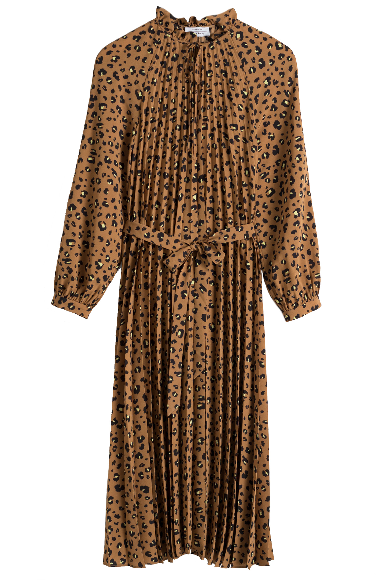 a5aab6957 Buy & Other Stories Pleated Leopard Print Midi Dress Online