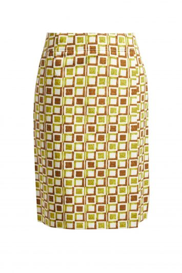 Click to Buy Prada Printed Skirt