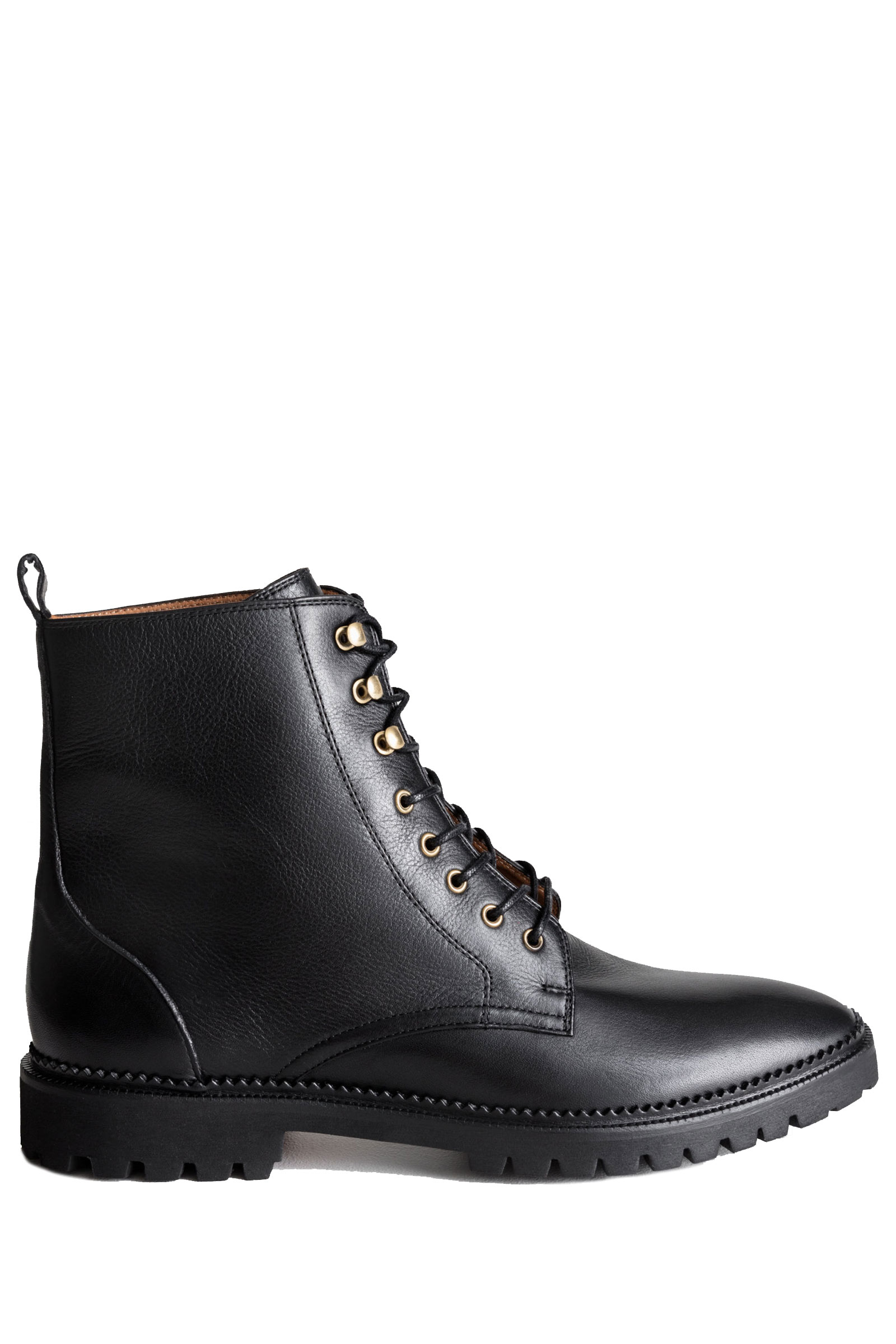 Other Stories Lace-Up Leather Boots