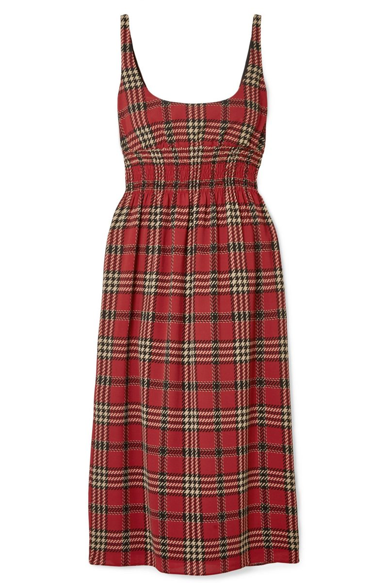 Click to Buy Emilia-Wickstead-Tartan-Dress