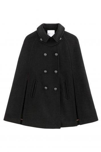 Click to Buy La Redoute Wool Blend Cape Coat