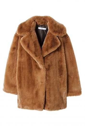 Click to Buy Mango Faux Fur Coat