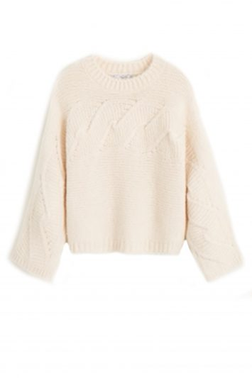 Click to Buy Mango Contrasting Knit Sweater