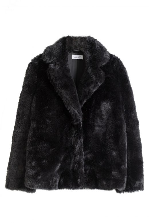 Click to Buy & Other Stories Faux Fur Jacket
