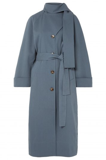 Click to Buy Rejina Pyo Riley Belted Cotton Coat