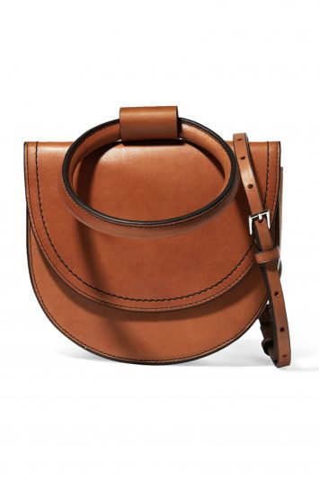 Click to Buy Theory Leather Bag