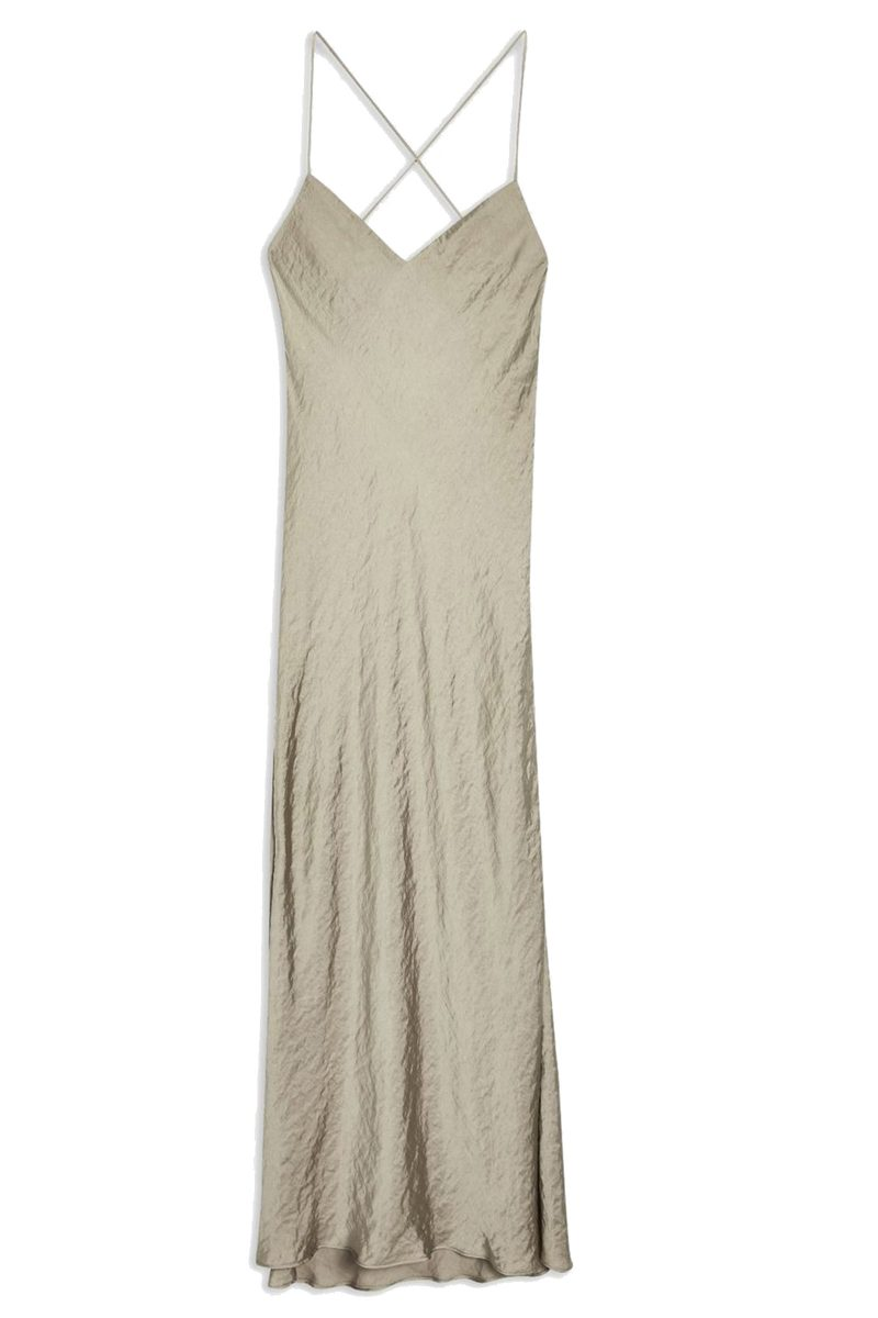 Click to Buy Topshop Satin Slip Dress
