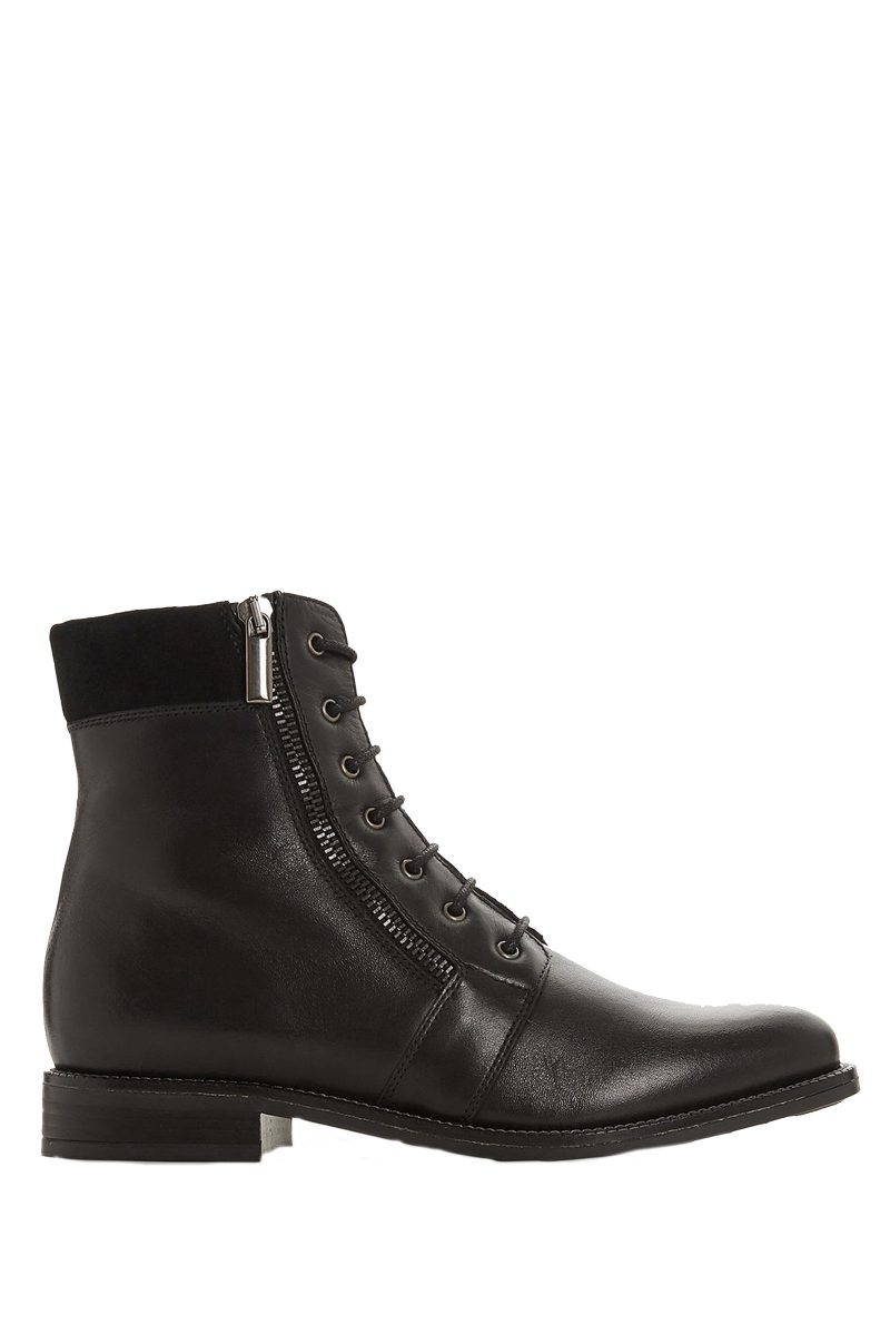 Click to buy Dune Zip Ankle Boots