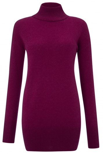 Click to Buy Cashmere-Roll-Neck-Sweater