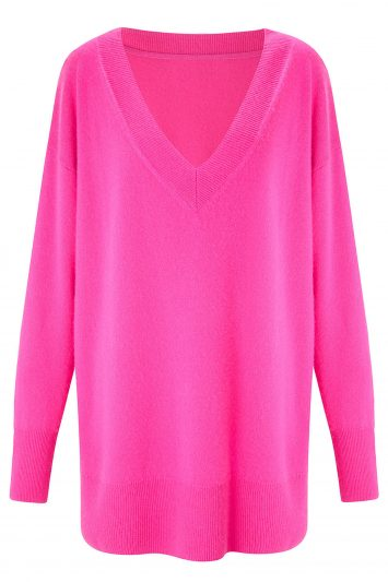 Click to Buy Cashmere-V-Neck-Sweater