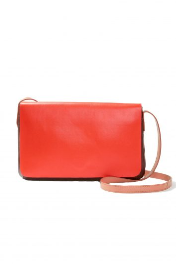Click to buy John Lewis & Partners Leather Slim Cross Body Bag
