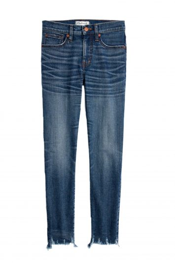Click to buy Madewell High-Rise Skinny Crop Jeans