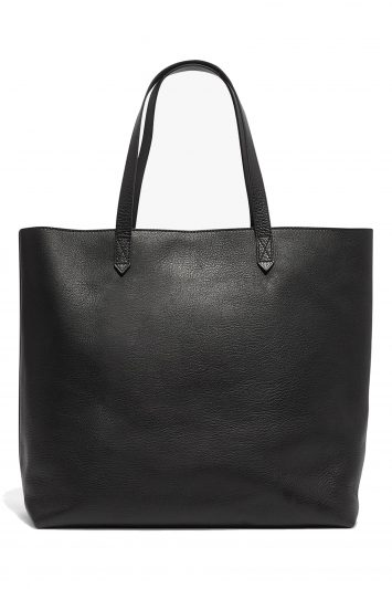 Click to buy Madewell Leather Tote Bag