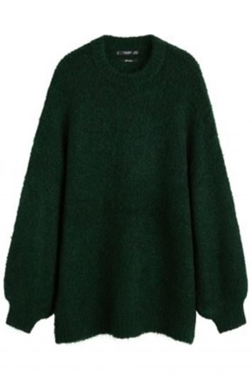 Click to Buy Mango Long Knit Sweater