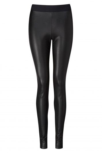 Click to Buy Pure Collection Faux Leather Leggings