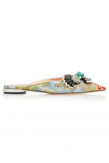 Click to Buy Rochas Flat Mules
